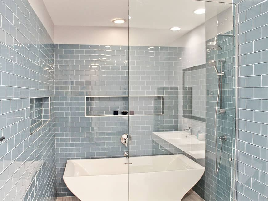 townhouse bathroom remodel s prairie ave chicago il south loop