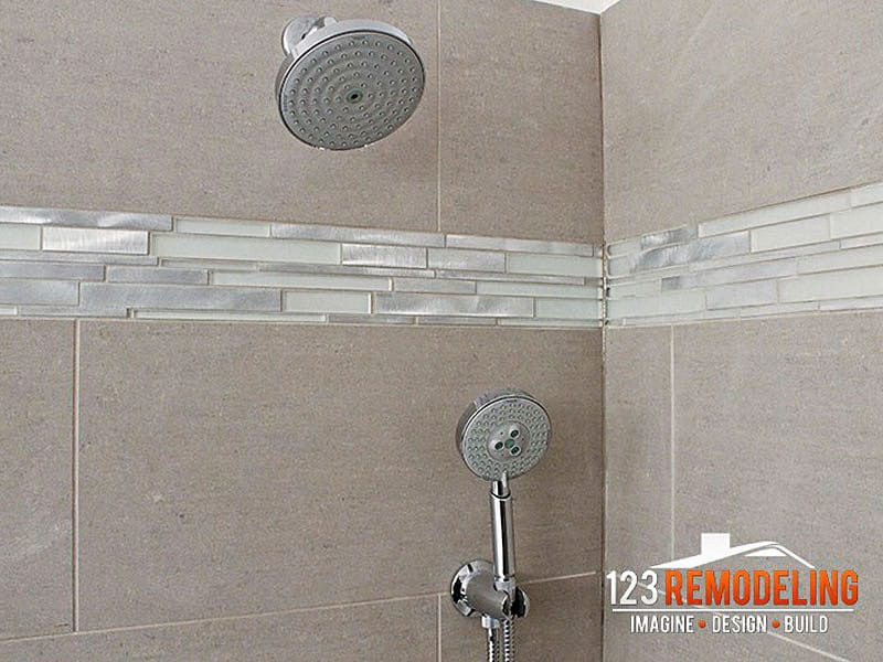 After Condo Bathroom Remodel - 1030 N. State St, Chicago, IL (Gold Coast)