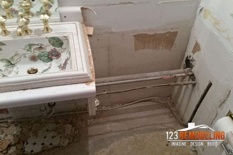 Condo Bathroom Remodel - 1030 N State St, Chicago, IL (Gold Coast)