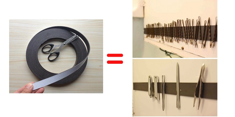 storage magnetic strip remodeling