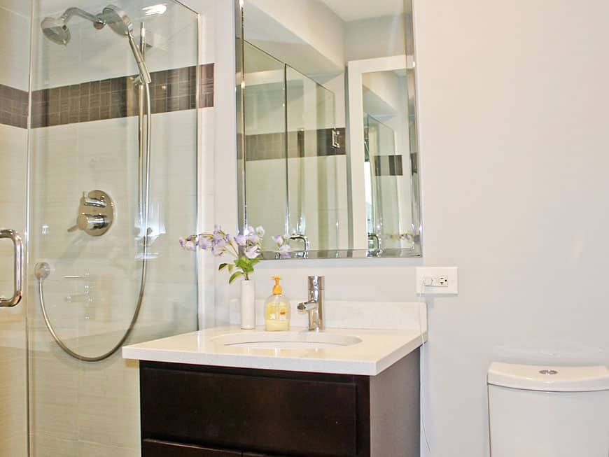 Condo Bathroom Renovation - 655 W. Irving Park Rd, Chicago, IL (Lake View)