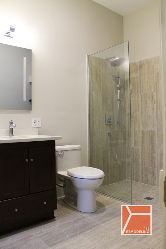 evanston bathroom remodel main image