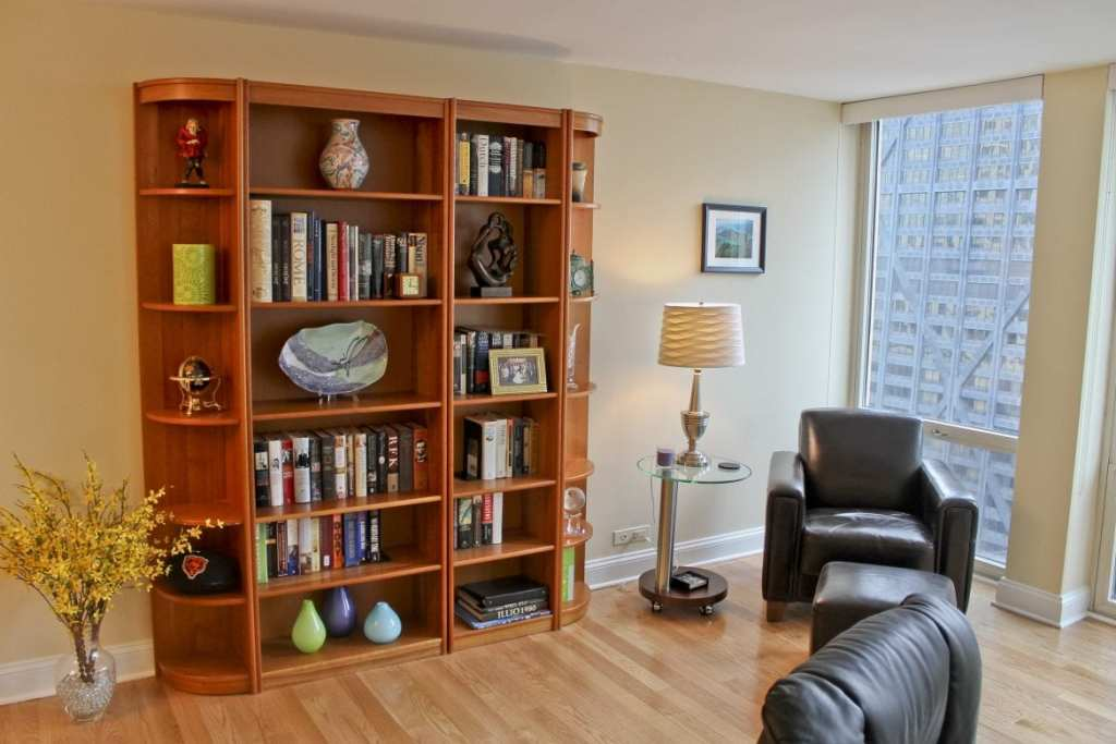 Living Room Remodel – 111 E Chestnut St, Chicago, IL (Magnificent Mile)