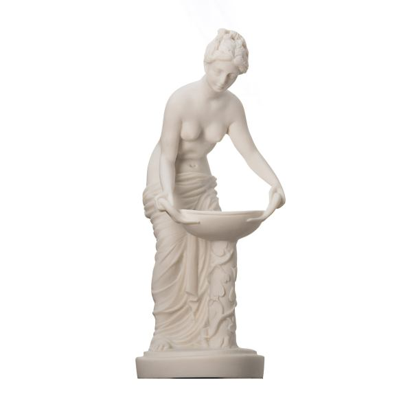 Hestia Statue Ancient Greek Goddess Of The family And The State 9.8″