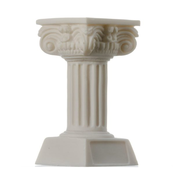 Composite Order Column Candle Holder Ancient Greek Decoration Architecture 4.7″