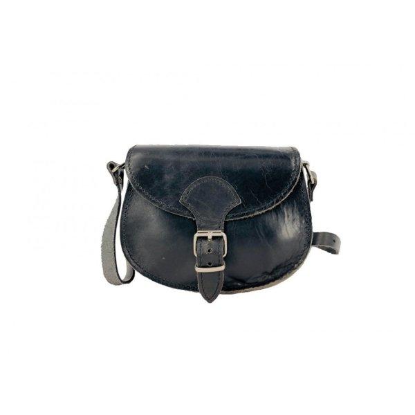 Leather Shoulder Bag Handmade Natural Tan Beige Brown Black Cross Body Satchel Vintage Saddle Handbag Purse  S