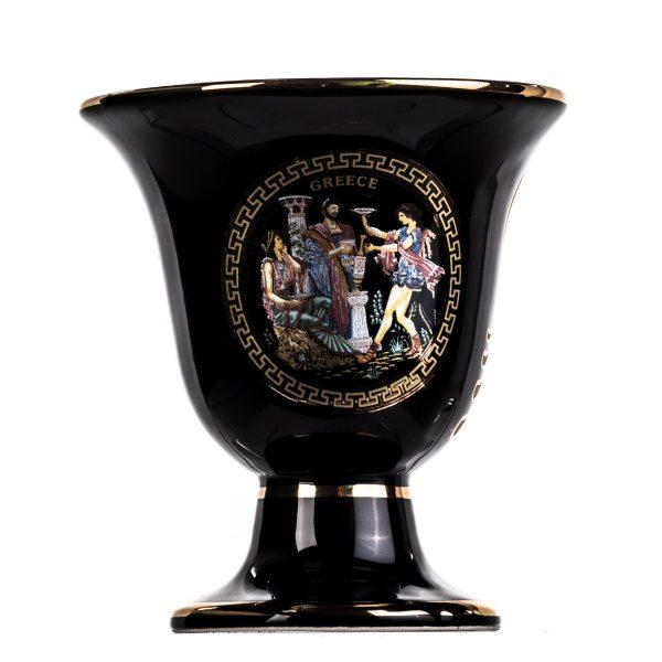 Pythagoras Cup of Justice Dionysus Phaethon Pythagorean Fair Mug Ancient Greece Black Cobalt Usable