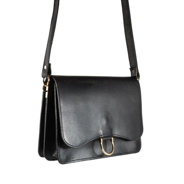 Leather Shoulder Bag Handmade Design Natural Tan Beige Brown Black Cross Body Satchel Vintage Saddle Handbag Purse M