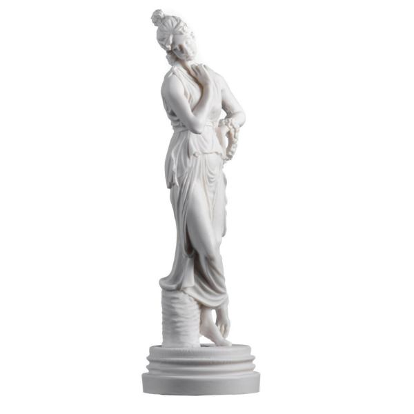 Persephone Goddess Of The Underworld Springtime Flowers&Vegetation Statue 11.8″