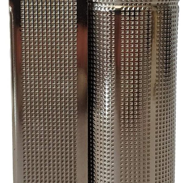 Vintage IMCO Lighter Junior 6600 Made in Austria Silver New Old Stock