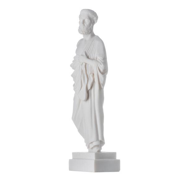 Hippocrates of Kos Father of Medicine Alabaster Statue 9.4″