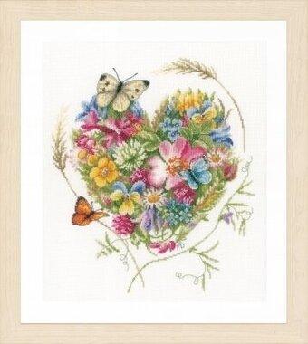 lanarte heart of flowers