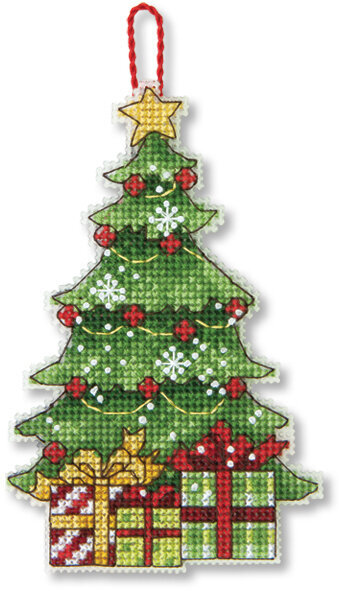 Dimensions Tree Christmas Ornament Cross Stitch Kit 70
