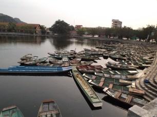 Embarcadère à Tam Coc