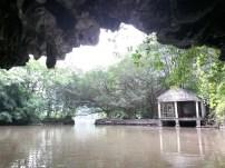 Traversée de la troisième grotte