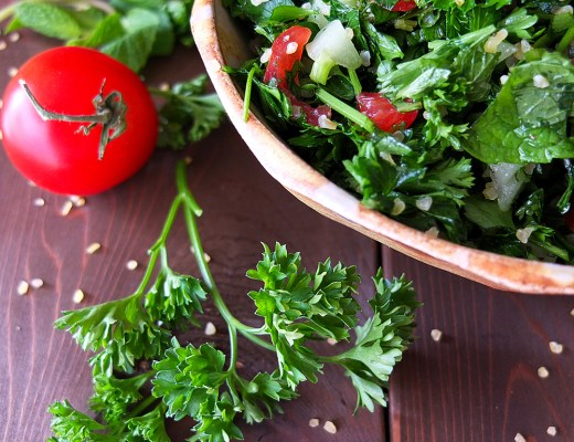 five-minute tabbouleh