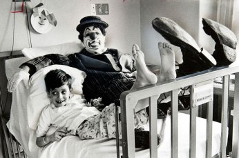 #TBT Clown Visit 1967
