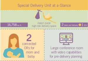 New special delivery unit keeps mom and baby together
