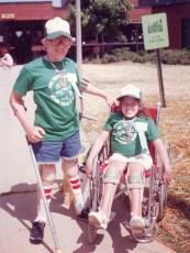 Patrick & Sarah in 1983