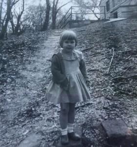 Teresa Cruikshanks at age 4.5