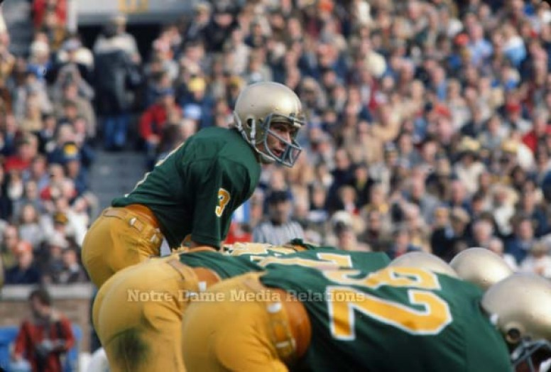 The Green Jersey Game (1977 vs. USC) // Moments // 125 Football ...