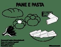 disegni di alimenti da colorare   Maestramaria