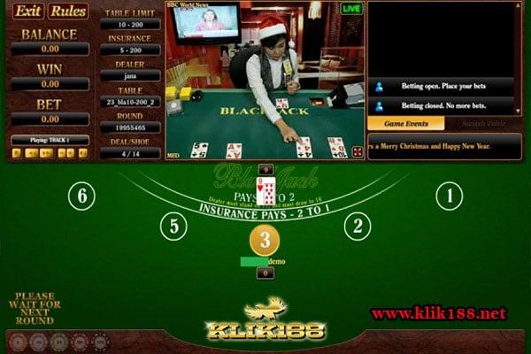 Live Blackjack