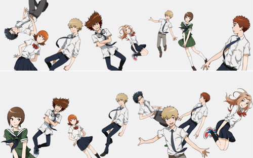 digimon tri character