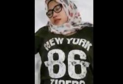 Siska Jilbab Fenomenal Dari Newyork