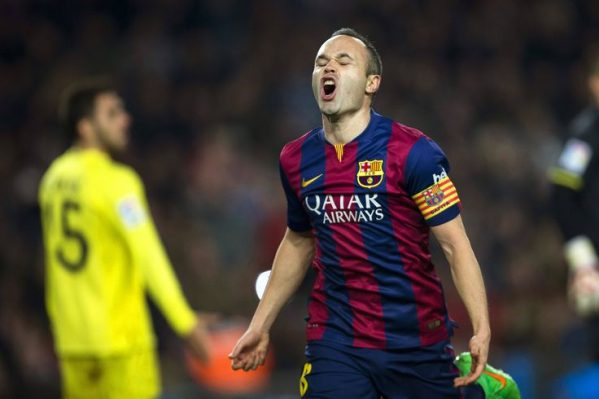 Iniesta Berharap Dirinya Bisa Kembali Di Turunkan Lawan Madrid