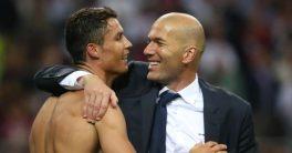 Zidane Katakan Ronaldo Adalah Pemain Berkualitas Sepanjang Masa