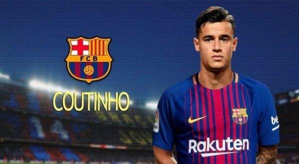 Nomor Punggug Keinginan Coutinho Mengingat Masa Lalu Barcelona