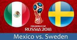 Prediksi Pertandingan Sepakbola Timnas Meksiko VS Timnas Swedia