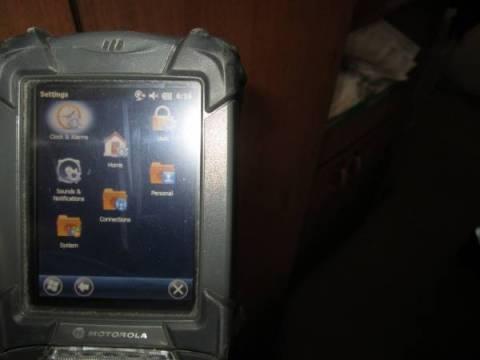 Калибровки экрана ТСД MC9190 и MC3190