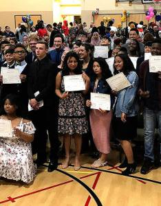 Kent   excel public charter school had its first graduation on june as eighth graders also recognizes graduating class rh kentreporter