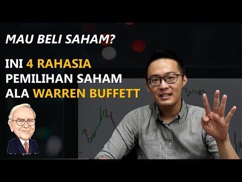 4 Strategi Investasi Saham ala Warren Buffett