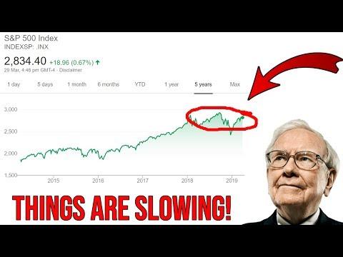 """Warren Buffett – """"The Economy Is Slowing Down"""""""