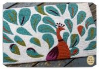 peacock bathroom rug  Roselawnlutheran