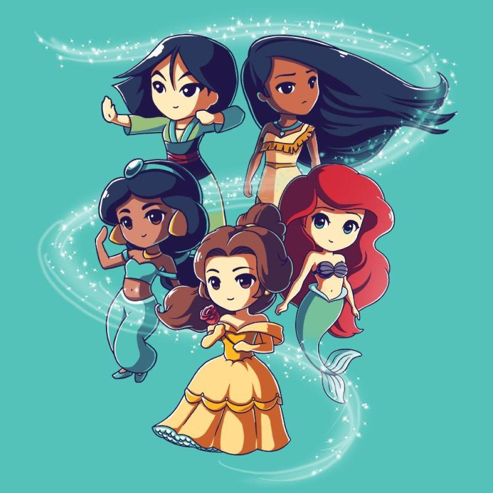 enchanting princesses t shirt