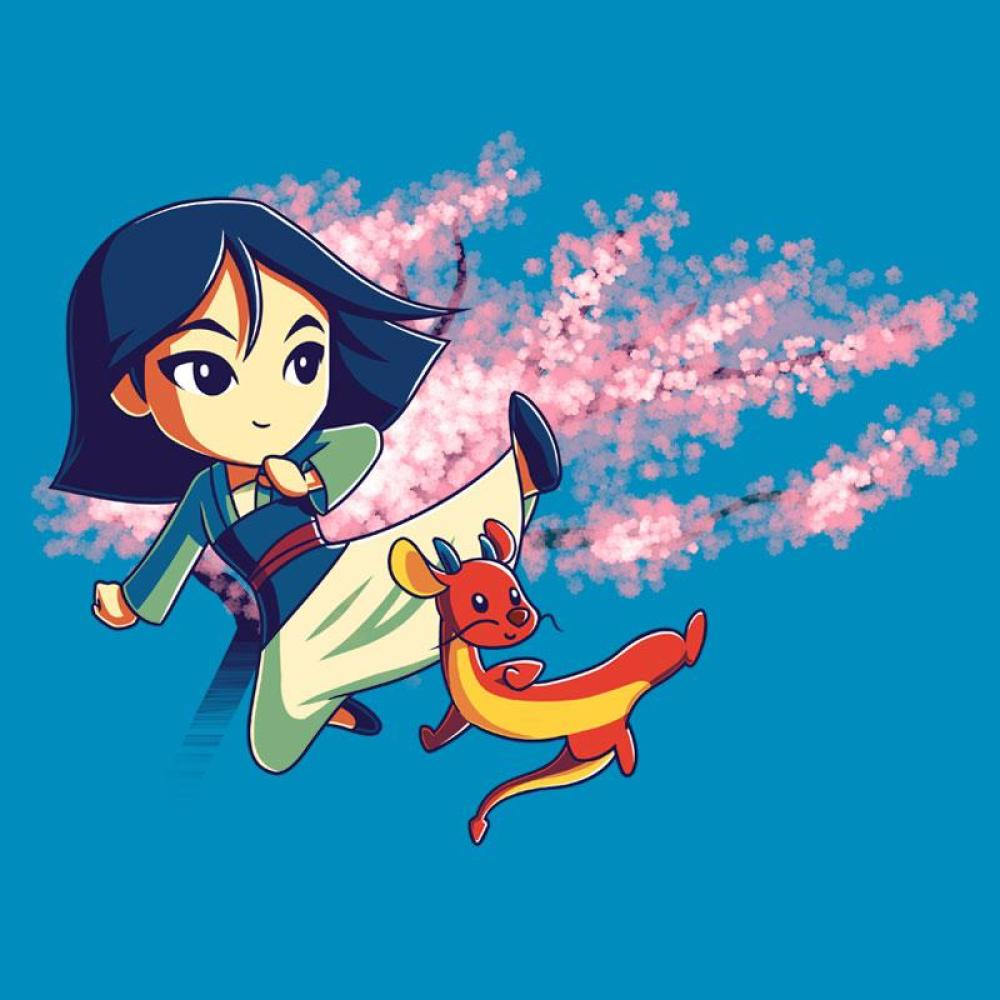 Mulan Warriors In Training TShirt  Official Disney Tee