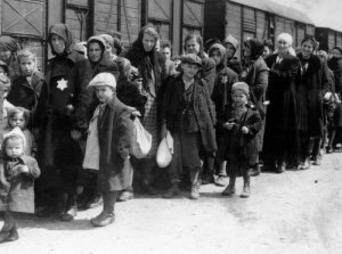 Prisoner arrivals at Auschwitz