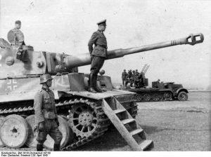 Forged History: Nazi tank hanging original