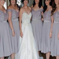 Short Bridesmaid Dress,Blush Pink Bridesmaid Dress, V-neck ...