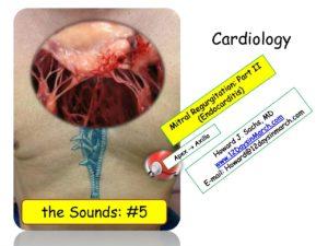 Mitral Regurgitation and Endocarditis. PDF   12DaysinMarch