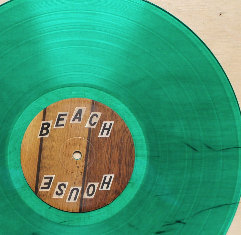 "Beach House  Thank Your Lucky Stars  ""loser"" Green Vinyl"