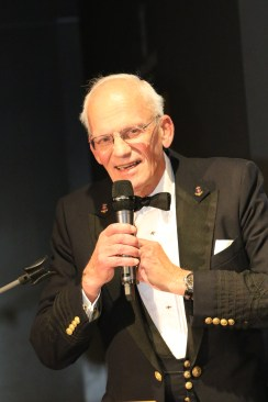 ITMA President, Wm. H. Dyer Jones inducted to the America's Cup Hall of Fame at Robbe & Berking Yachting Heritage Center in Flensburg, Germany on November 16, 2019