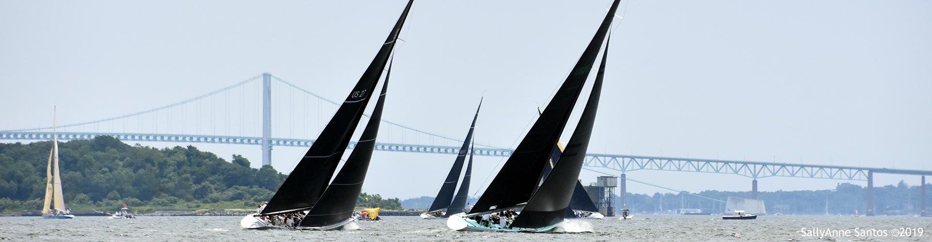 2020 12mR World Championship at Newport, Rhode Island, photo by SallyAnne Santos