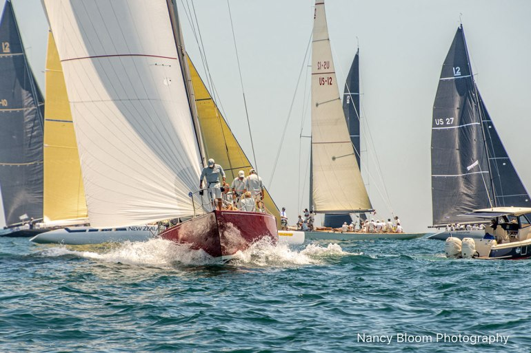 2019 12 Metre World Championship, photo by Nancy Bloom