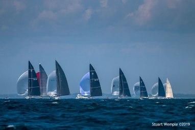 2019 12 Metre World Championship, photo by Stuart Wemple