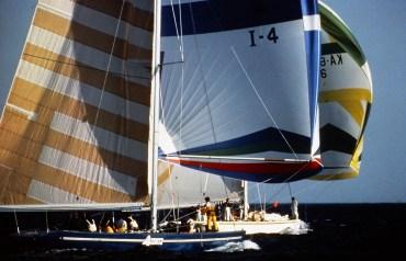 Azzurra I (I-4), photo courtesy Brian Melzian